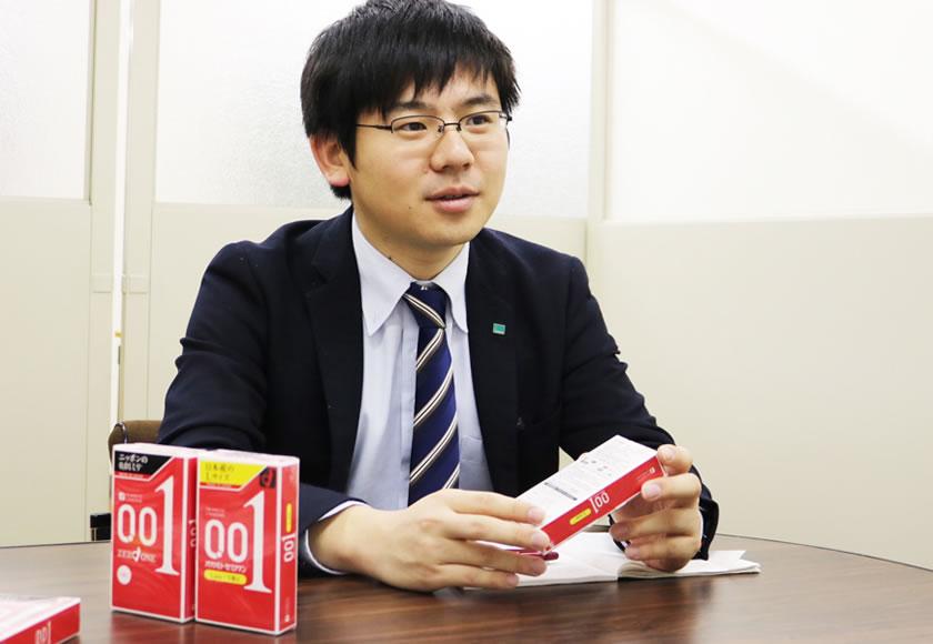 お話をうかがったのは、マーケティング課の和田さん