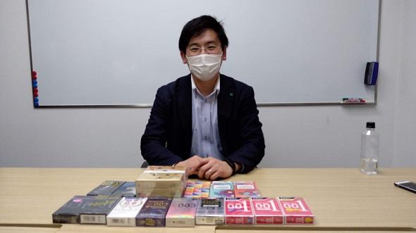 オカモト株式会社 担当の和田さん